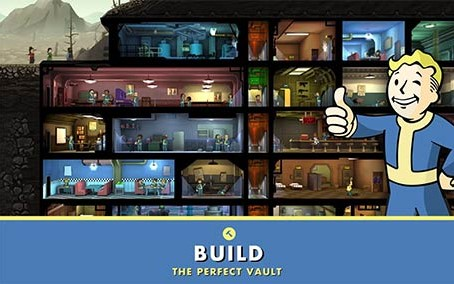 Fallout Shelter 1.13.25 Apk + Mod (Caps,Food,Water,Energy) + Data