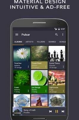 Pulsar Music Player Pro 1.9.4 B-169 Apk Unlocked all features for android